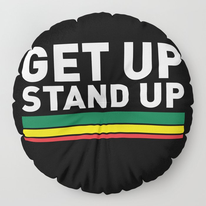 Get Up Stand Up / Rasta Vibrations Floor Pillow