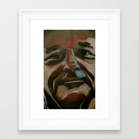 murray Framed Art Prints featuring bill murray by Jonny Moochie