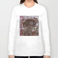 fog Long Sleeve T-shirts featuring Fog by Anna Oparina