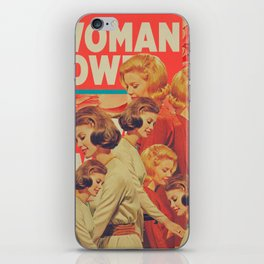 Woman Power iPhone Skin