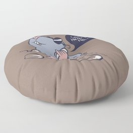 Can You Hear Me Now? Floor Pillow