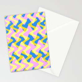 Crosswave Pink - Electron Series 003 Stationery Cards