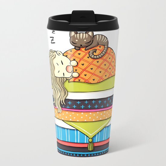 Plan for the Winter Metal Travel Mug
