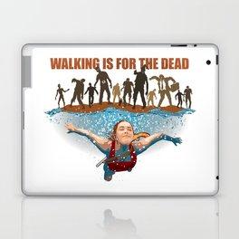 SWIM! Walking Is For The Dead Laptop & iPad Skin