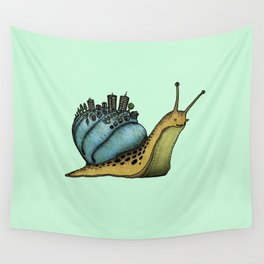 Snail City Wall Tapestry