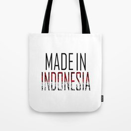 Made In Indonesia Tote Bag