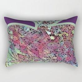 A bite of the Apple Rectangular Pillow