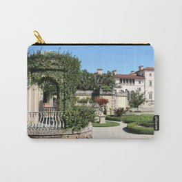 Villa Vizcaya Garden View Carry-All Pouch