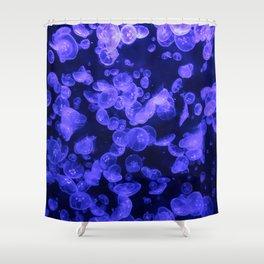 Moon Jellies Shower Curtain