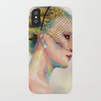 jennifer lawrence iPhone & iPod Cases featuring Jennifer Lawrence by Pandora's Box Design Co.
