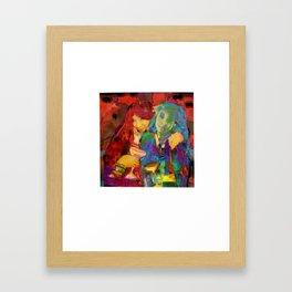 sym·me·try Framed Art Print