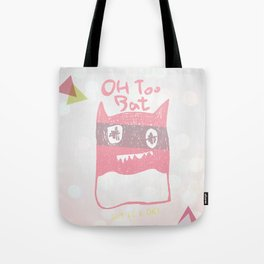 Oh Too Bat Tote Bag