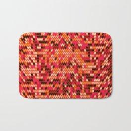 Melange knit textile 3 Bath Mat