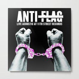 ANTI FLAG LIVE ACOUSTIC TOUR DATES 2019 BAKPAU Metal Print