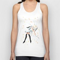 swan queen Tank Tops featuring Swan by Freeminds