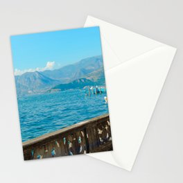 View of Lago d'Iseo | Lago d'Iseo Italy travel photography |  Travel Art Print Stationery Cards