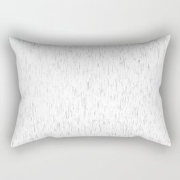 White rain   Rain art   Rain Decor   Rain Design   Modern art   Office art   Fine Art Rectangular Pillow