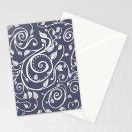 Vines in Blue Stationery Cards