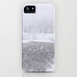 Light Snowfall iPhone Case