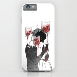 Love grow roses. iPhone Case