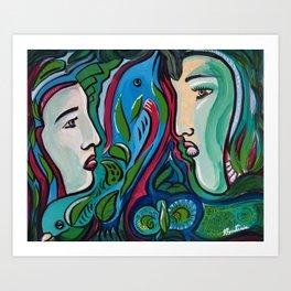 Art by Armando Renteria Organically Driven Art Print