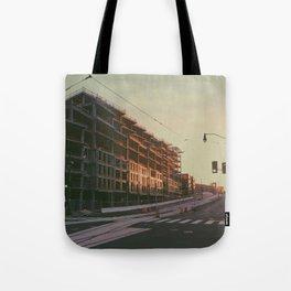 Sunlit D.C. Construction Tote Bag