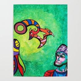 Green portal Poster