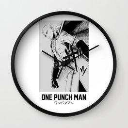 Saitama One Punch Man Wall Clock