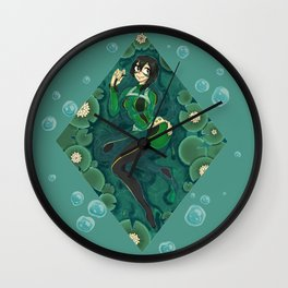 Kayla Froggy Wall Clock