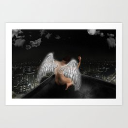Angel of the City Art Print