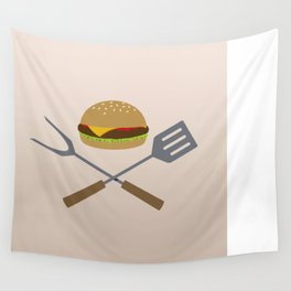 Jolly Burger Wall Tapestry