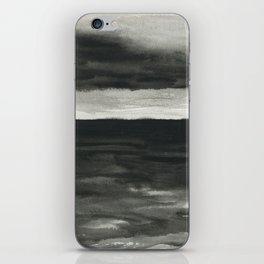 Dark sea iPhone Skin