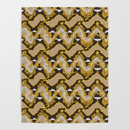 Reticulated Python Repeat Poster