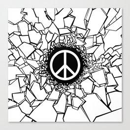 Peacebreaker II Canvas Print