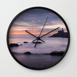 Good morning Mumbles Wall Clock
