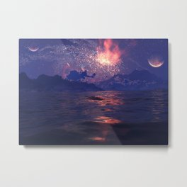 Distant Shores Metal Print