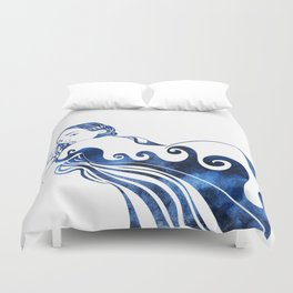 Water Nymph III Duvet Cover