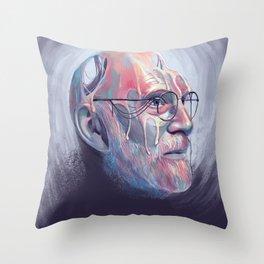 Oliver Sacks Throw Pillow