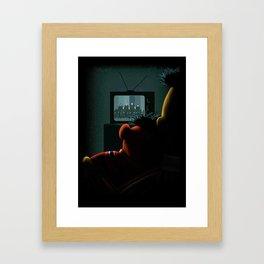 Bert & Erine Framed Art Print