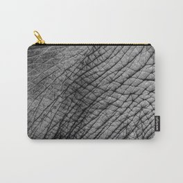 Elephant skin Carry-All Pouch