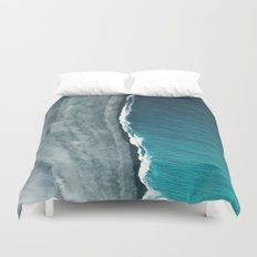Beach Abstract Duvet Cover