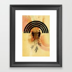 Amor de Verano Framed Art Print