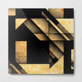Geometric Shapes Metal Print