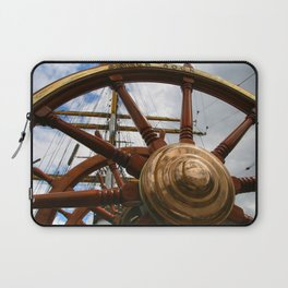Port is left and starboard side right Laptop Sleeve
