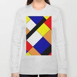 Mondrian #18 Long Sleeve T-shirt