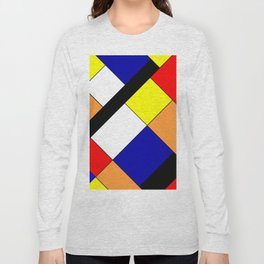 Mondrian #18 Long Sleeve T-shirt