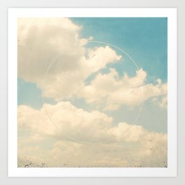 Laugh at the Sky Art Print