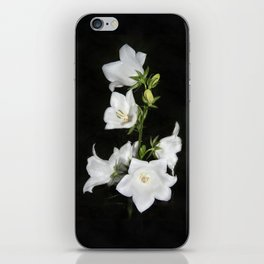 White bell iPhone Skin