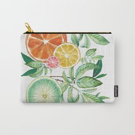 Citrus Fruit Carry-All Pouch