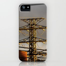 Power Tower iPhone Case